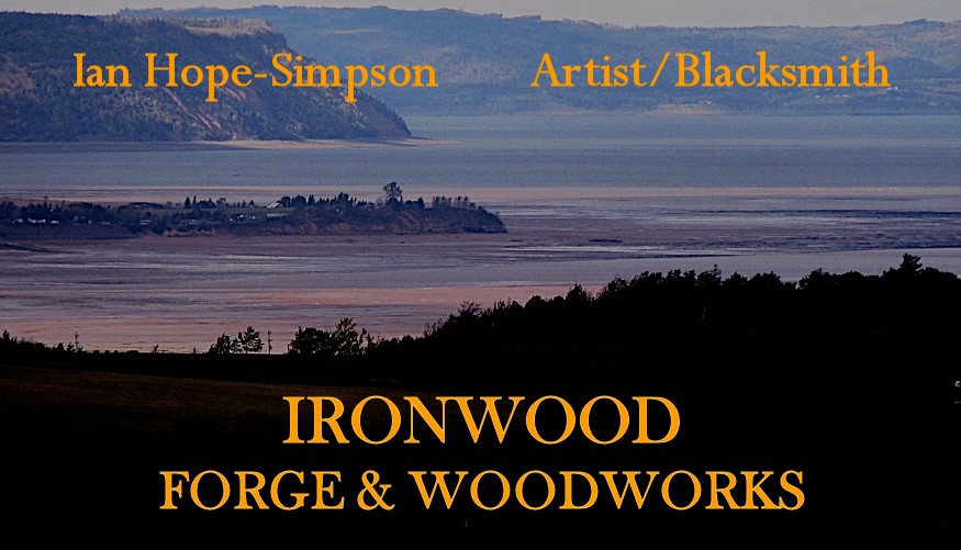 Ian Hope-Simpson Artist Blacksmith - Ironwood Forge and Woodworks